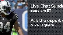 Expert Chat w/ Mike Tagliere (Sun, 9/17) photo