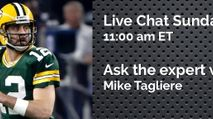 Expert Chat w/ Mike Tagliere (Sun, 10/8) photo