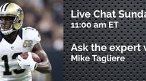 Expert Chat w/ Mike Tagliere (Sun, 10/15) photo