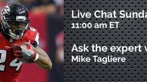 Expert Chat w/ Mike Tagliere (Sun, 10/22) photo
