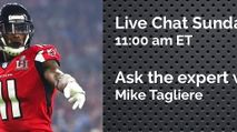 Expert Chat w/ Mike Tagliere (Sun, 10/29) photo