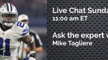 Expert Chat w/ Mike Tagliere (Sun, 11/05) photo