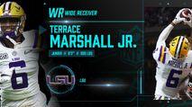 2021 NFL Draft Profile: WR Terrace Marshall Jr. photo