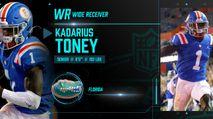 2021 NFL Draft Profile: WR Kadarius Toney photo