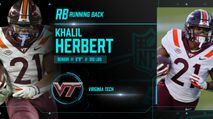 2021 NFL Draft Profile: RB Khalil Herbert photo
