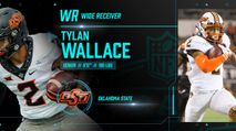 2021 NFL Draft Profile: WR Tylan Wallace photo