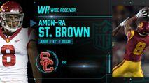 2021 NFL Draft Profile: WR Amon-Ra St. Brown photo