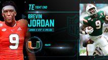 2021 NFL Draft Profile: TE Brevin Jordan photo