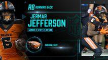2021 NFL Draft Profile: RB Jermar Jefferson photo