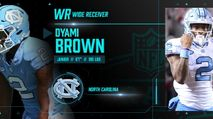 2021 NFL Draft Profile: WR Dyami Brown photo