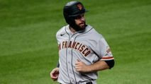 Fantasy Baseball Waiver Wire: Brandon Belt, Willie Calhoun, Tyler Anderson photo