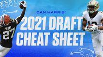 Dan Harris's 2021 Fantasy Football Draft Cheat Sheet photo