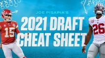 Joe Pisapia's 2021 Fantasy Football Draft Cheat Sheet photo