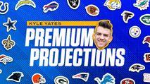 Kyle Yates's 2021 Premium Fantasy Football Projections photo