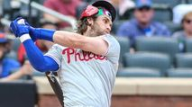 By The Numbers: Bryce Harper, Chris Taylor, Charlie Blackmon photo