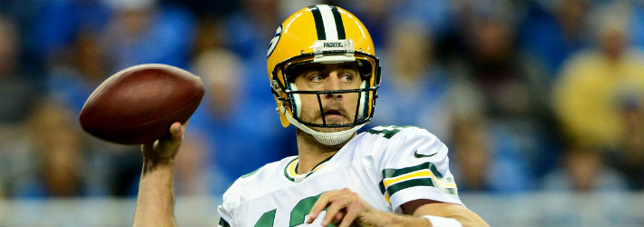 Aaron Rodgers registered the most quality starts of any QB in 2014
