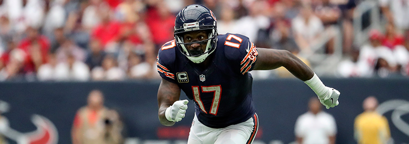 The reunion of Cutler and Jeffery should only improve Alshon's production moving forward