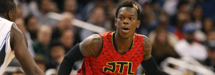 Dennis Schroder's on the rise while one of his teammates is falling