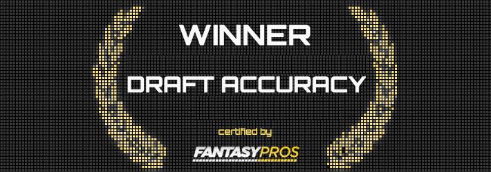 Fantasy Football Draft Accuracy
