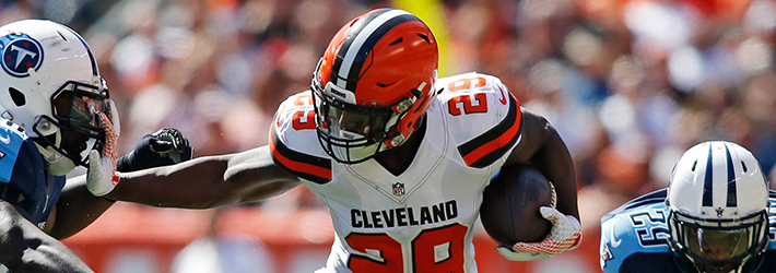 Rookie Duke Johnson is getting increased work and is a top waiver pickup because of it
