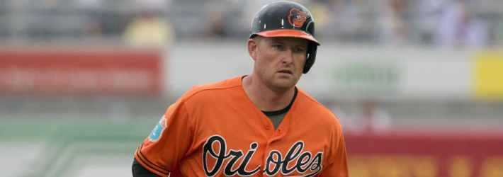 Mark Trumbo was build for the AL East