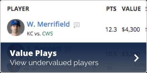 MLB Value Plays