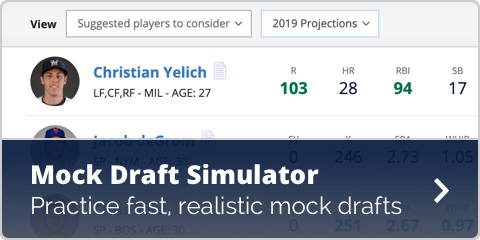 MLB Mock Draft Simulator