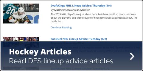 NHL Articles