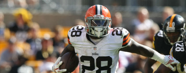 Terrance West (RB) Cleveland Browns