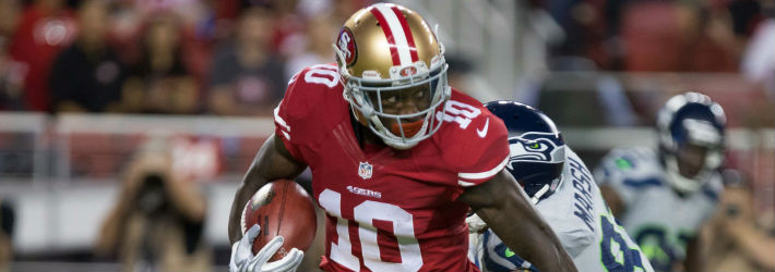 Does Bruce Ellington have a legitimate shot at jumping into a big role with the 49ers right out of the gate this year?