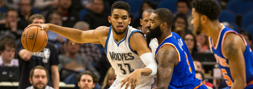 Karl-Anthony Towns has taken his game to another level of late