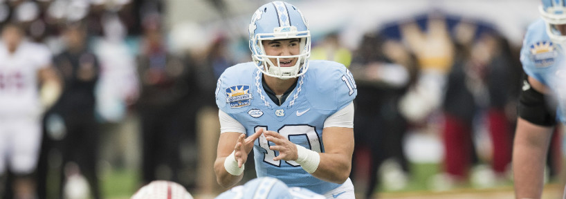 Mitch Trubisky could end up going in the top 10 picks