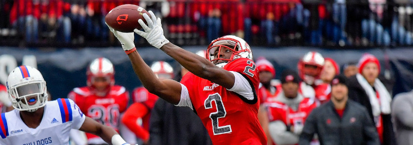 Taywan Taylor is a wide receiver who should contribute immediately to whichever team selects him in the NFL Draft.