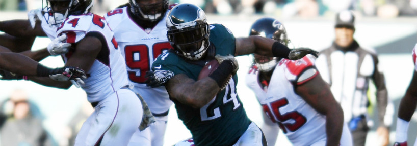 While everyone has their thoughts on who the Eagles will draft, Ryan Mathews still has a hold on the starting running back position for the Eagles, who should have a much more potent offense in 2017.