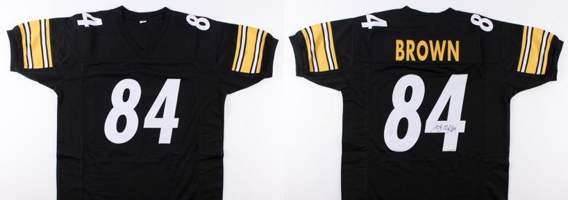 buy online 0bc44 d9158 Win a signed Antonio Brown jersey | FantasyPros