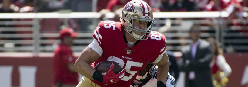 George Kittle Will Be A Stud In 2018 Fantasy Football