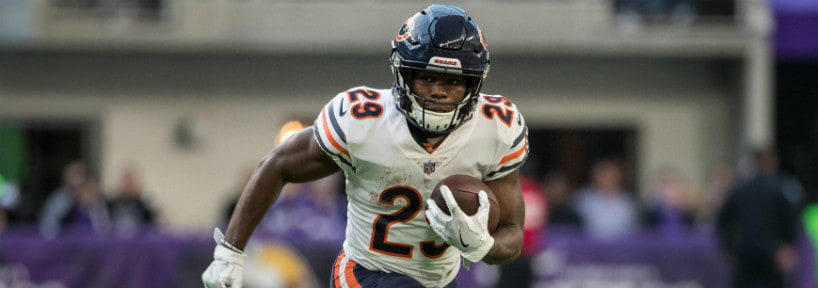 66dba5084 Bears running back Tarik Cohen is one of the players who benefits greatly  from the PPR format