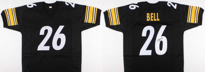 NFL Giveaway  Free Upgrades + Signed Le Veon Bell Jersey  6c349066e