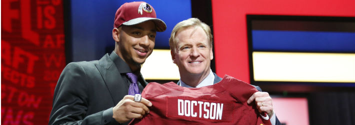 Will Josh Doctson earn the Redskins' No. 2 wideout gig during the season?