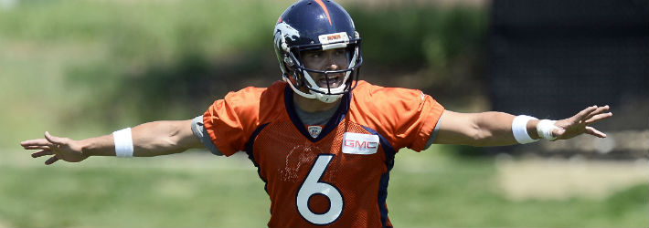Will Mark Sanchez hold off Paxton Lynch for the Broncos' starting quarterback job?