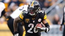 Giveaway: Win a signed Le'Veon Bell helmet photo