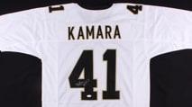 Win a signed Alvin Kamara jersey photo