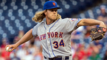 By The Numbers: Noah Syndergaard, Wilson Ramos, Howie Kendrick photo