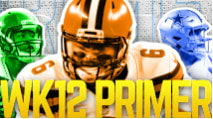 The Primer: Week 12 Edition (2019 Fantasy Football) photo