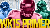 The Primer: Week 15 Edition (2019 Fantasy Football) photo