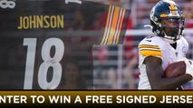 Win a Signed Diontae Johnson Jersey