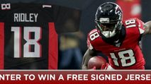 Win a Signed Calvin Ridley Jersey